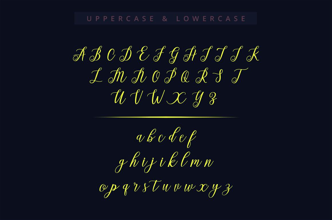 Alista Script example image 5