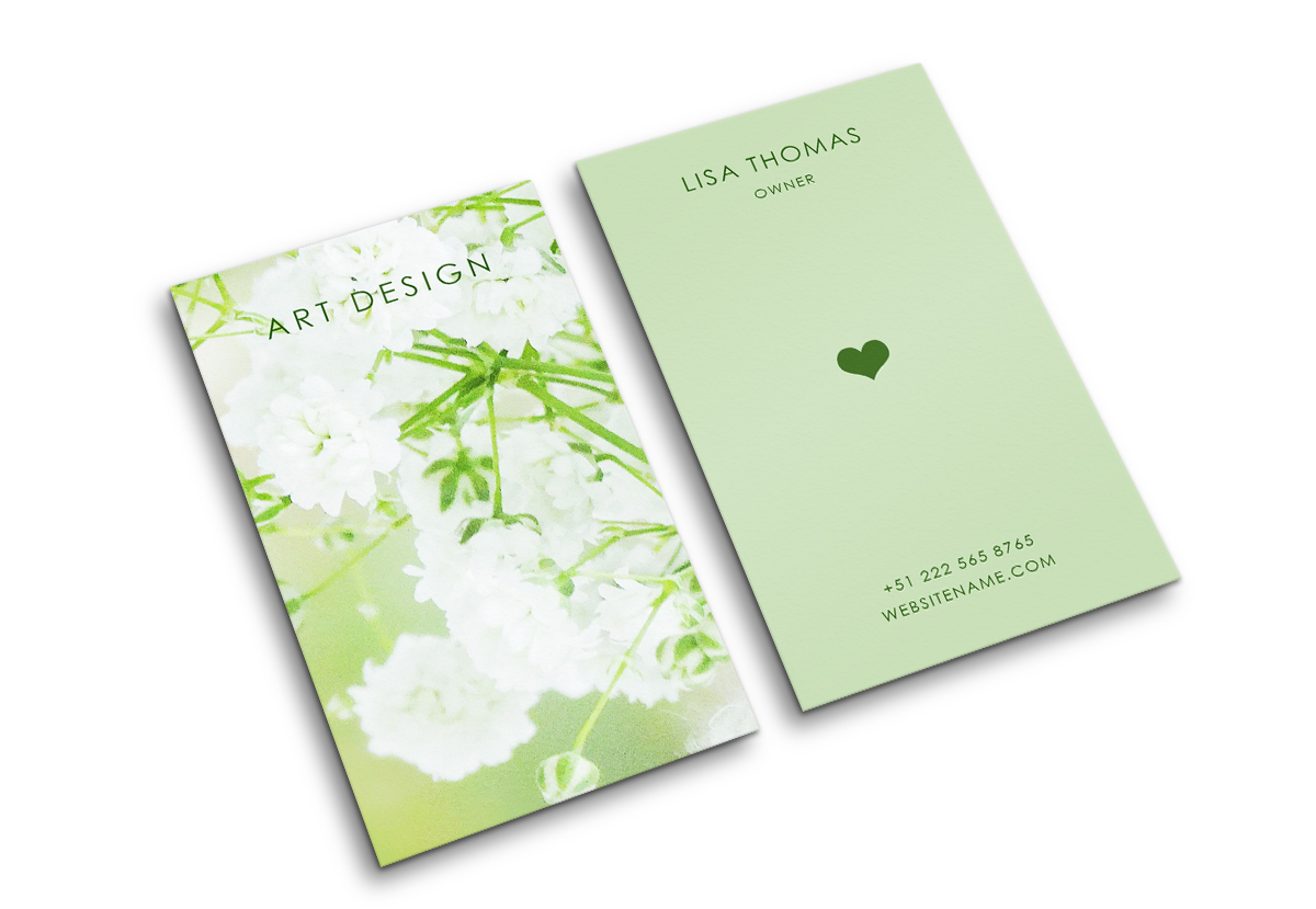 Beautiful creative art business Card example image 2