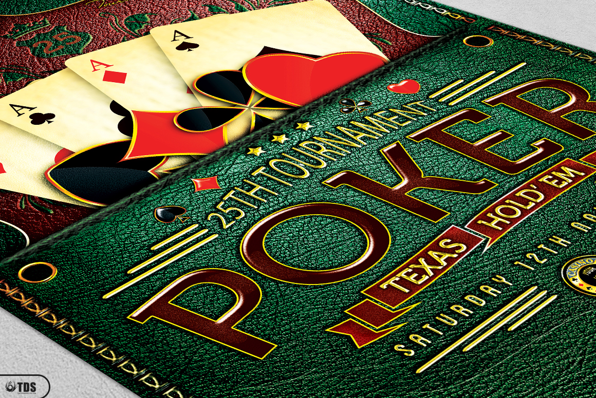 Poker Tournament Flyer Template example image 9