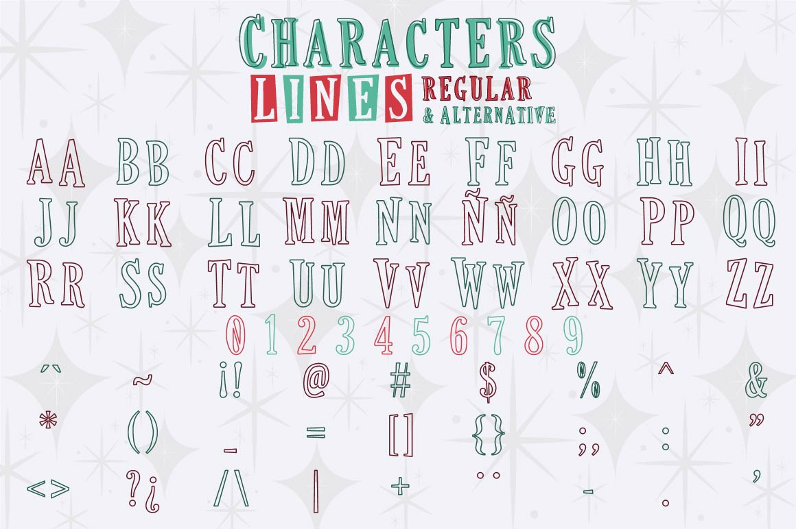 This Holiday Season - Christmas font and Extras example image 3