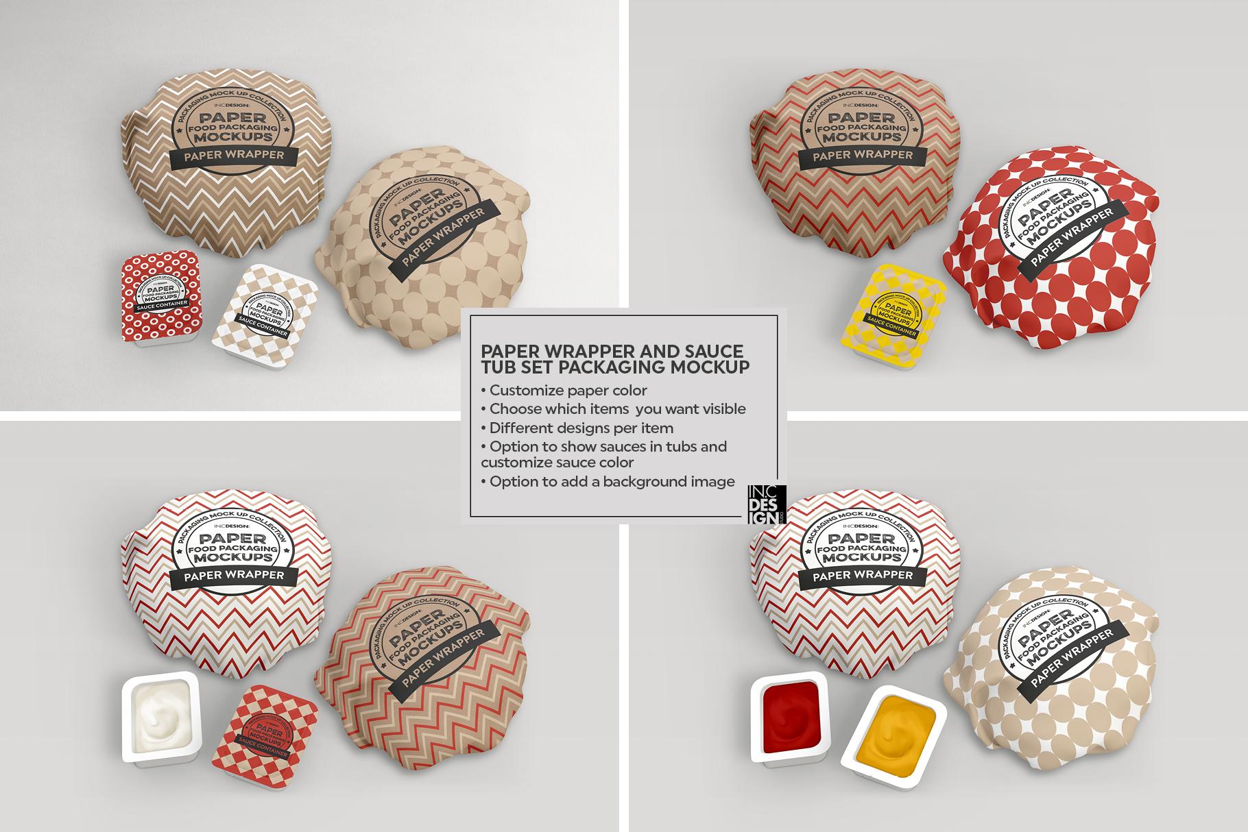 VOL.15 Food Box Packaging MockUps example image 16