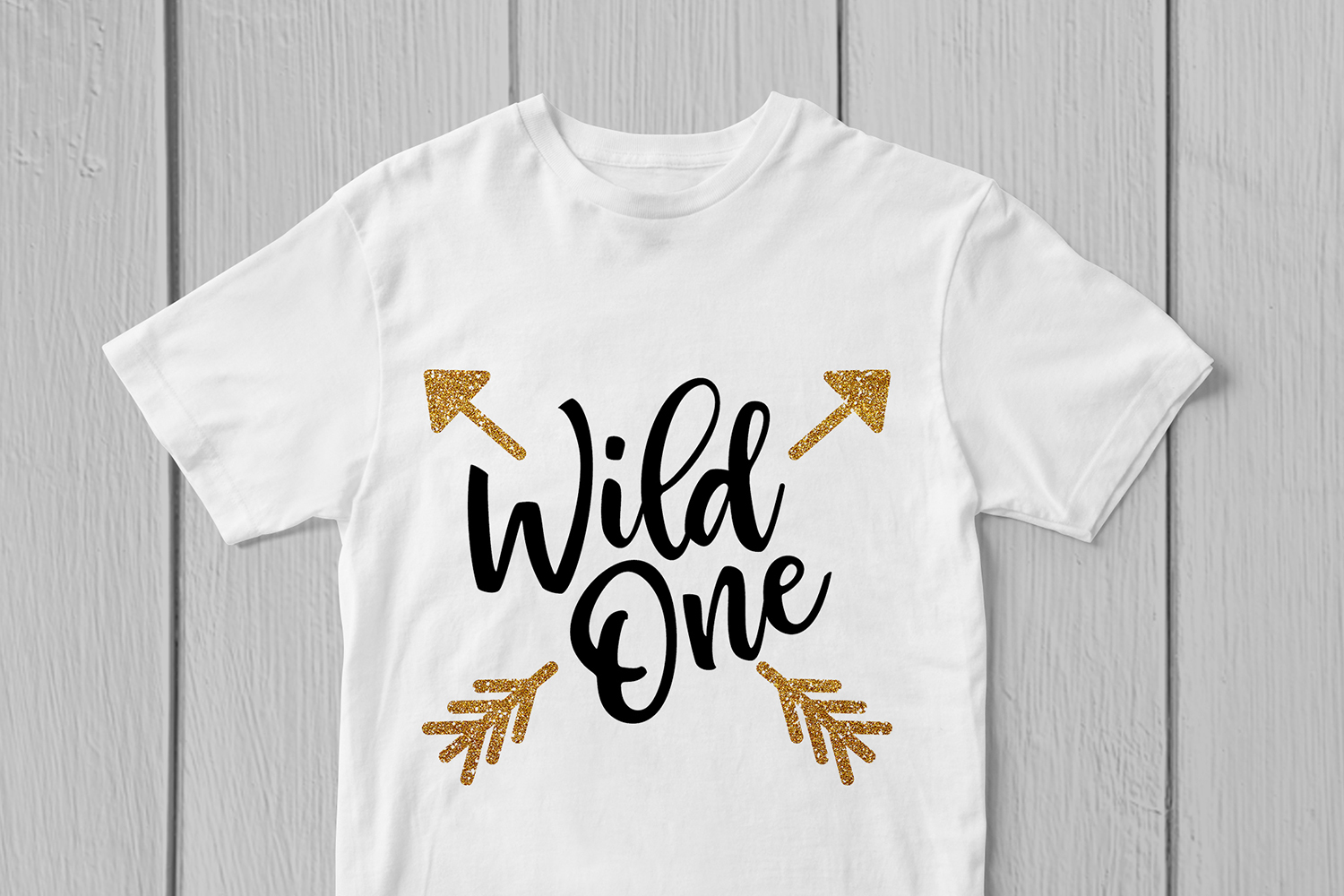 Wild One - Birthday SVG EPS DXF PNG Cutting Files example image 3