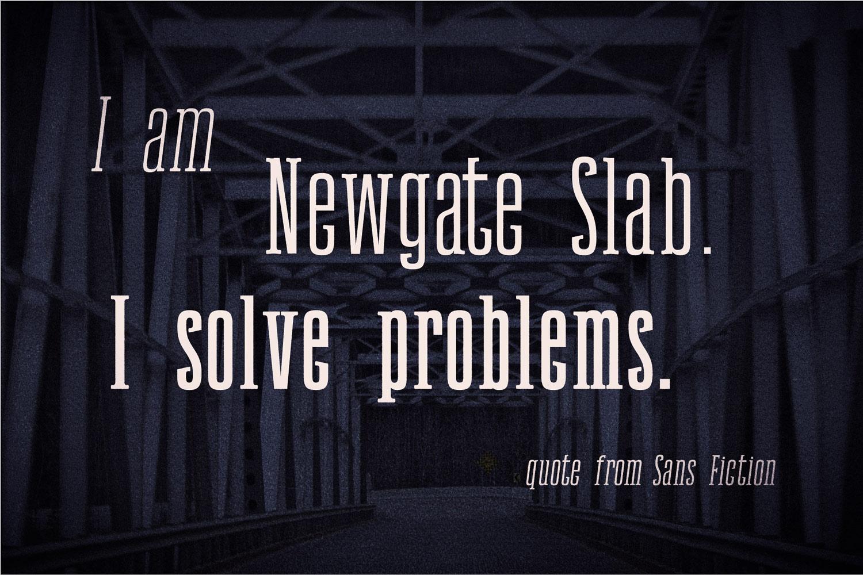 Newgate Slab example image 3