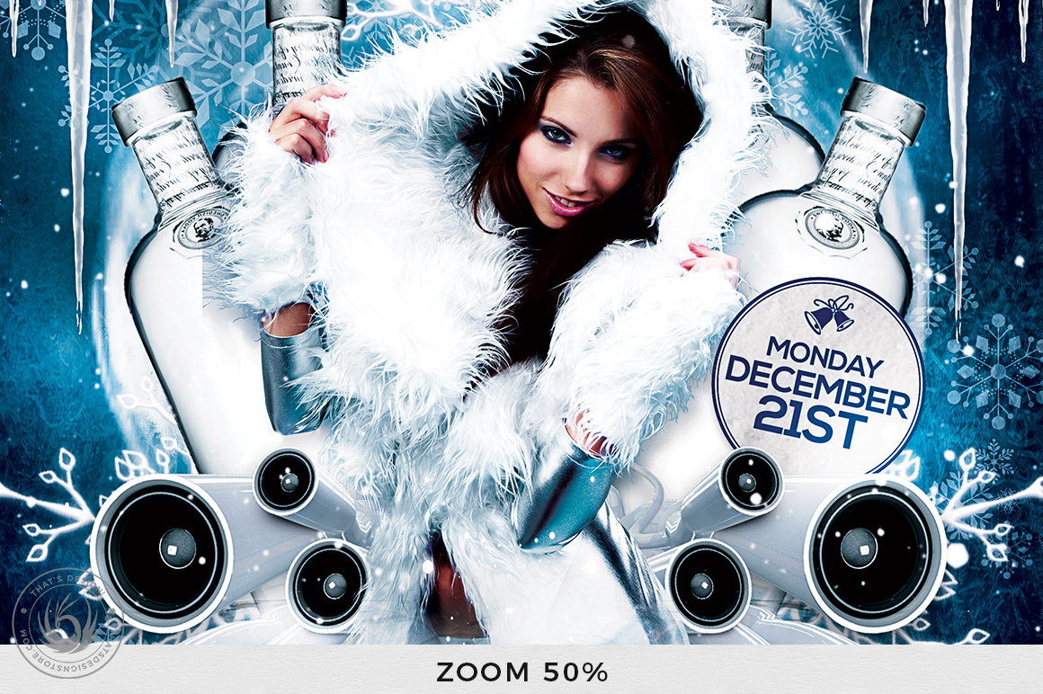 Winter Bash Flyer Template V1 example image 7
