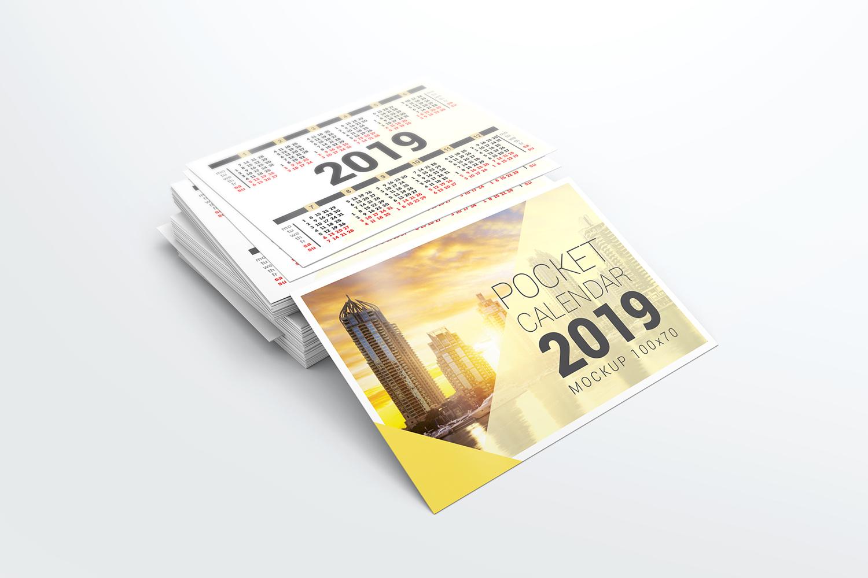 Pocket Calendar Mockups example image 2