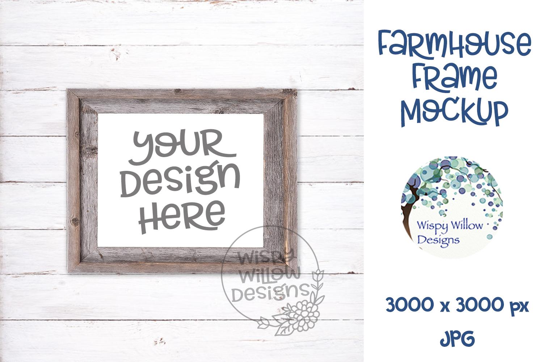 Farmhouse Photo Frame Mockup Bundle example image 3