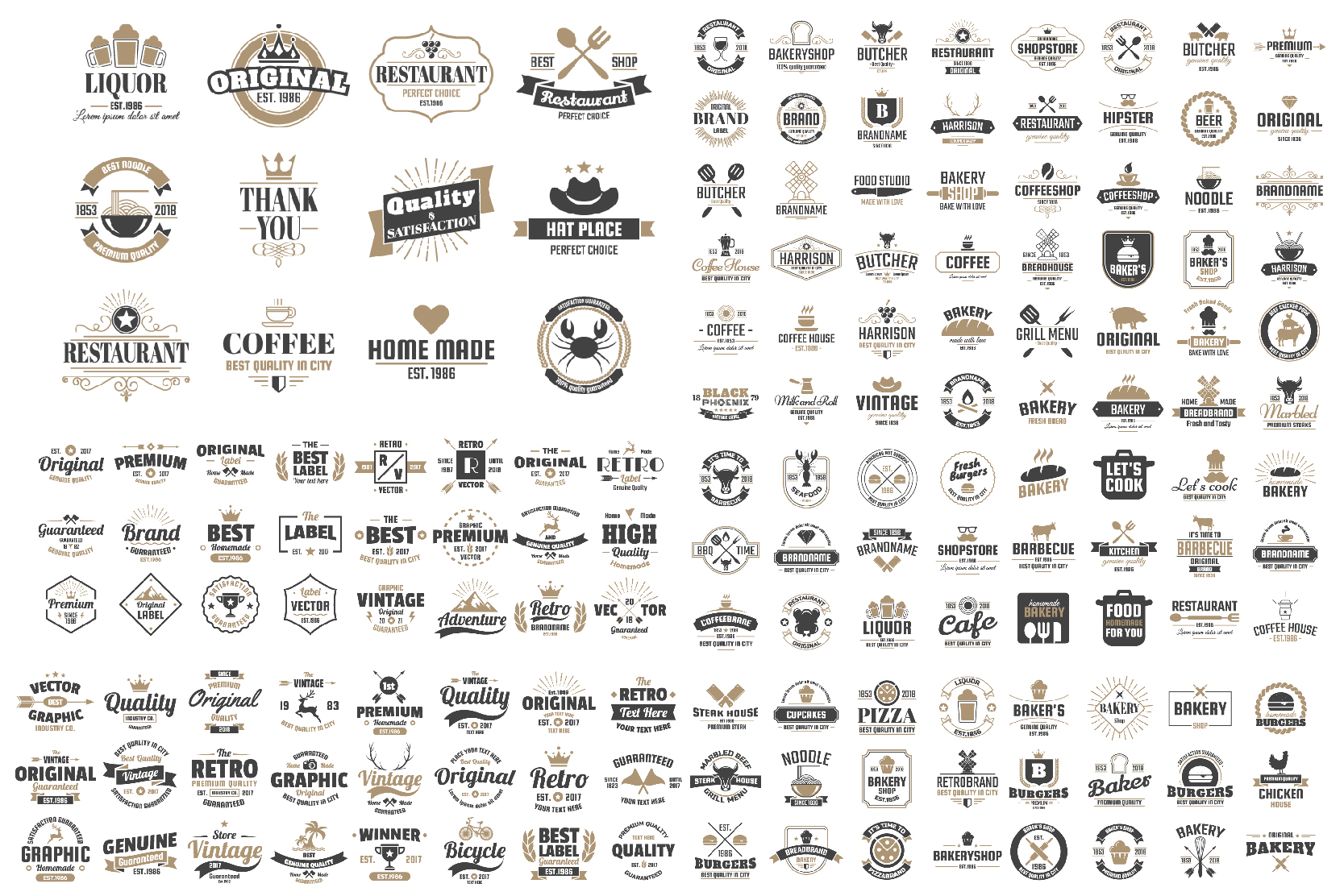 1207 Vintage Badge & Objects Vol.2 example image 5
