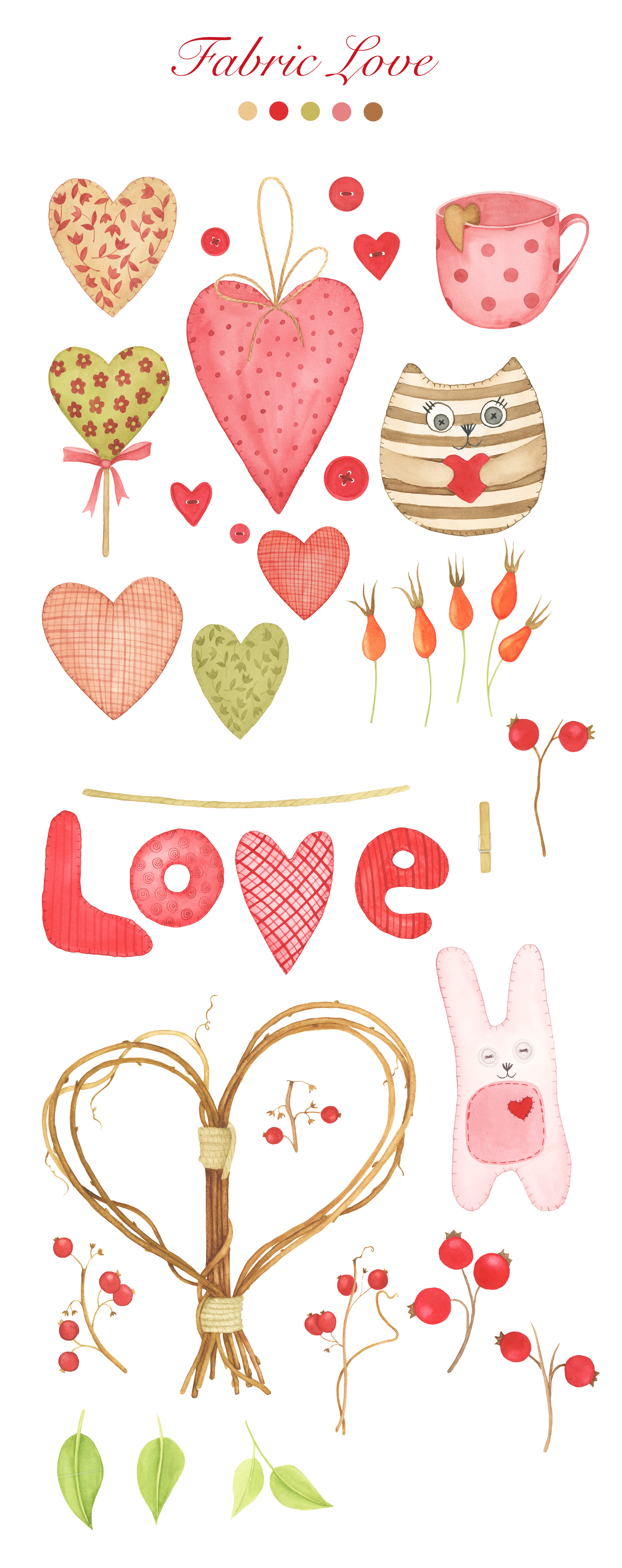 Valentine's Day Clipart example image 2