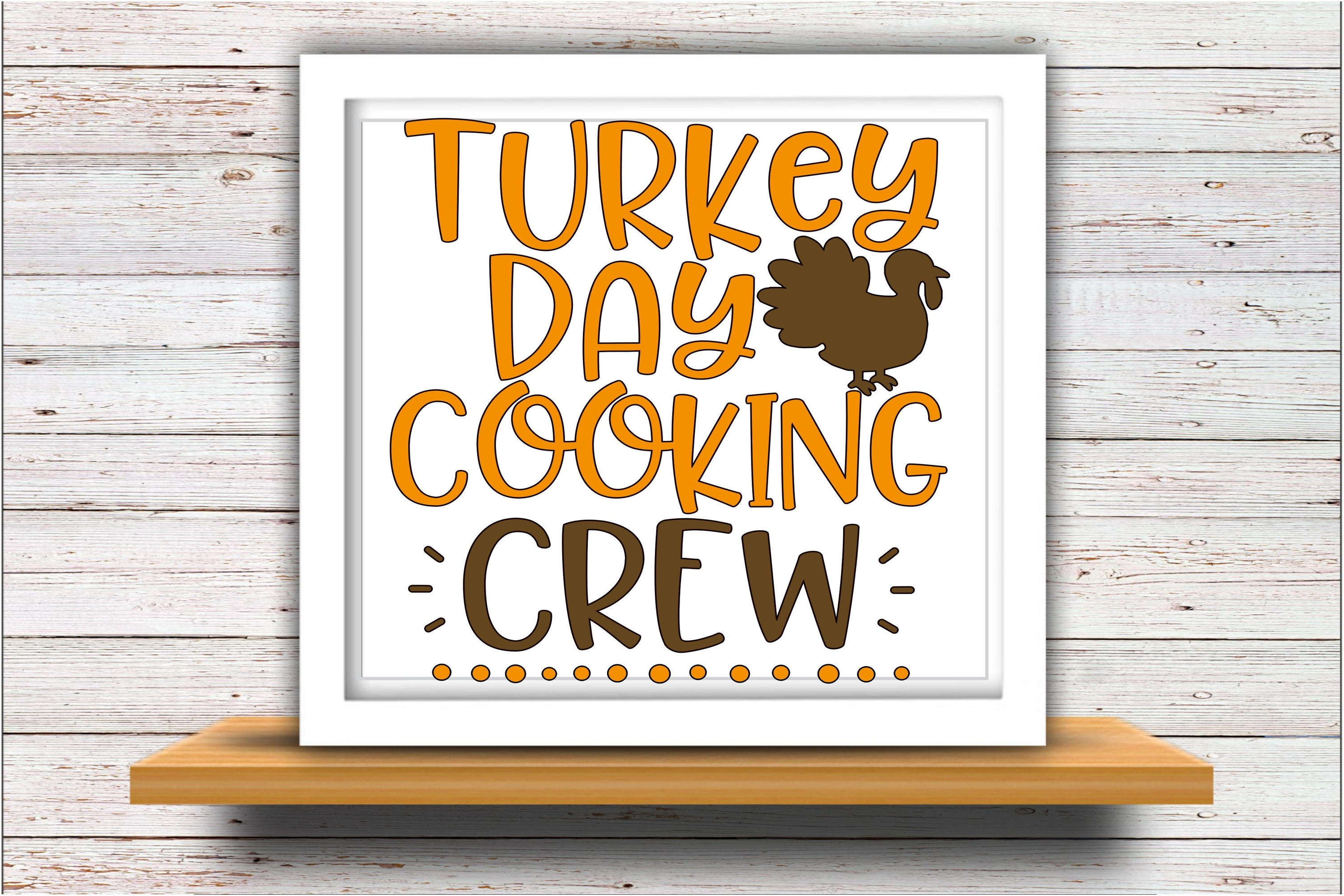 Cooking svg DXF JPEG Silhouette Cameo Cricut Thanksgiving example image 2
