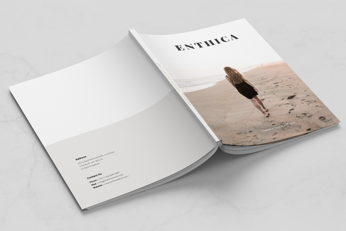 ENTHICA Brochure Templates example image 6