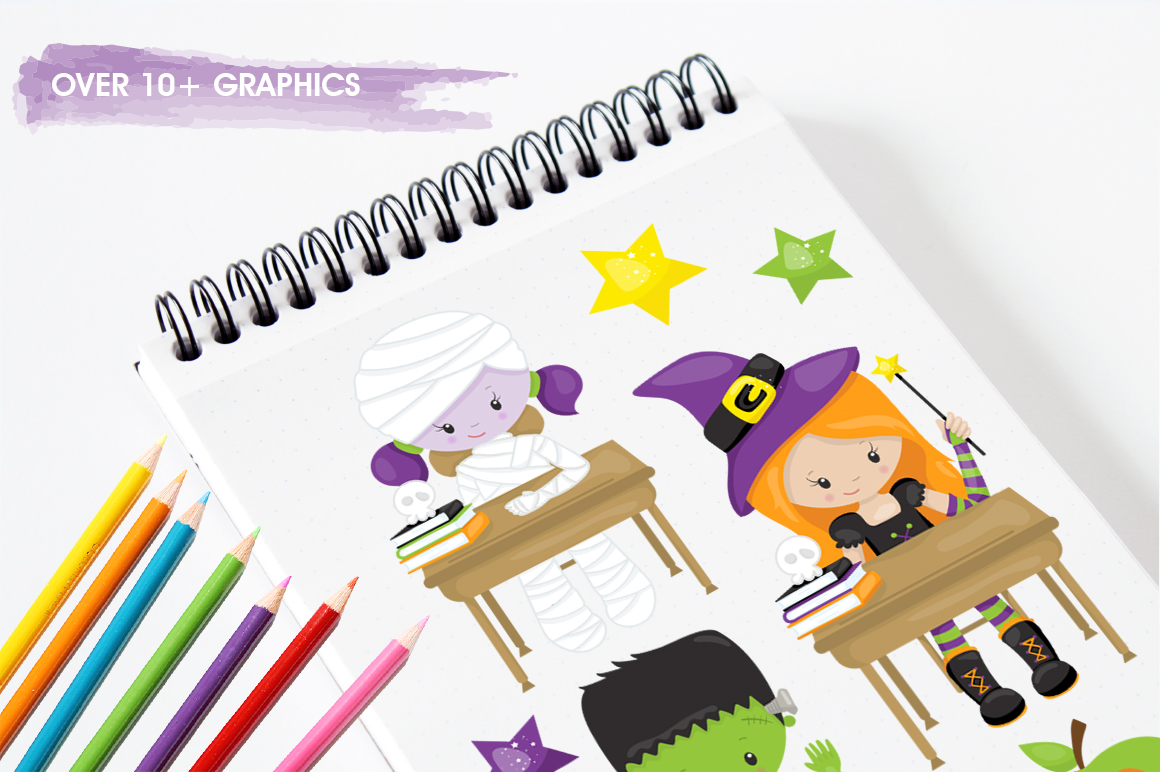 Little Monster graphic and illustrations example image 3