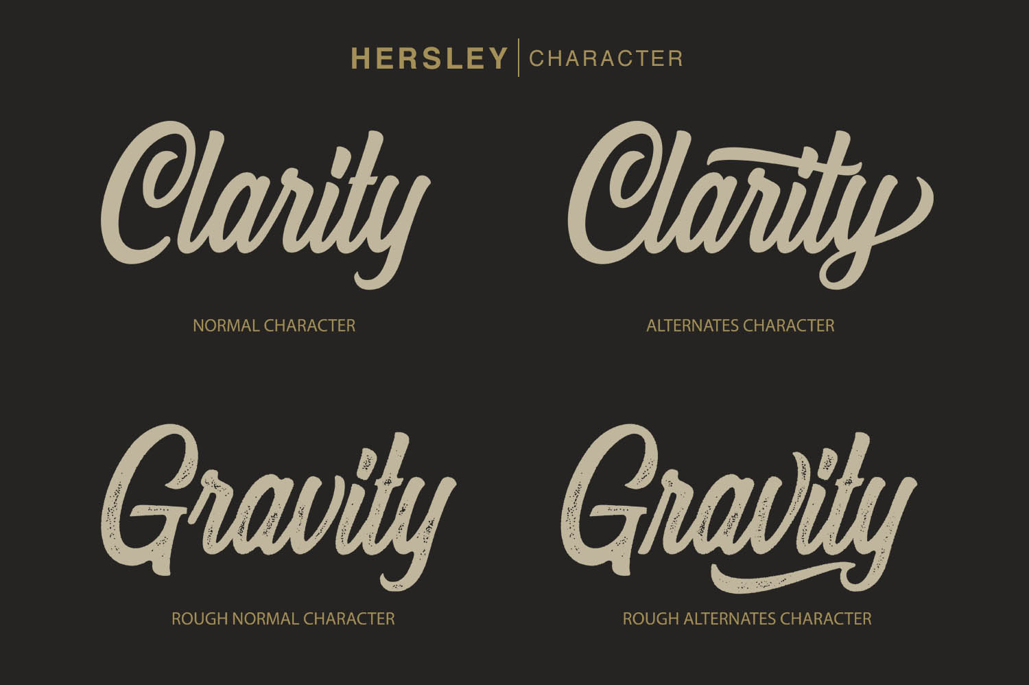 Hersley Typeface example image 3