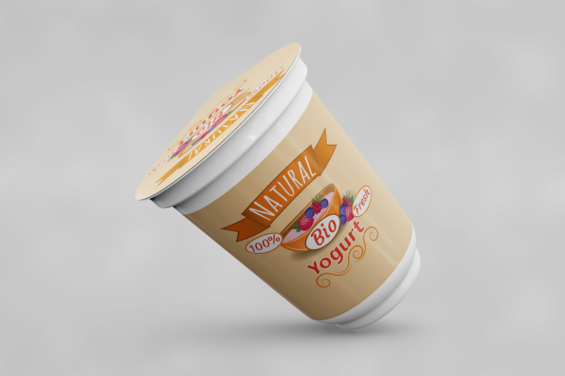 Yogurt Mockup example image 8
