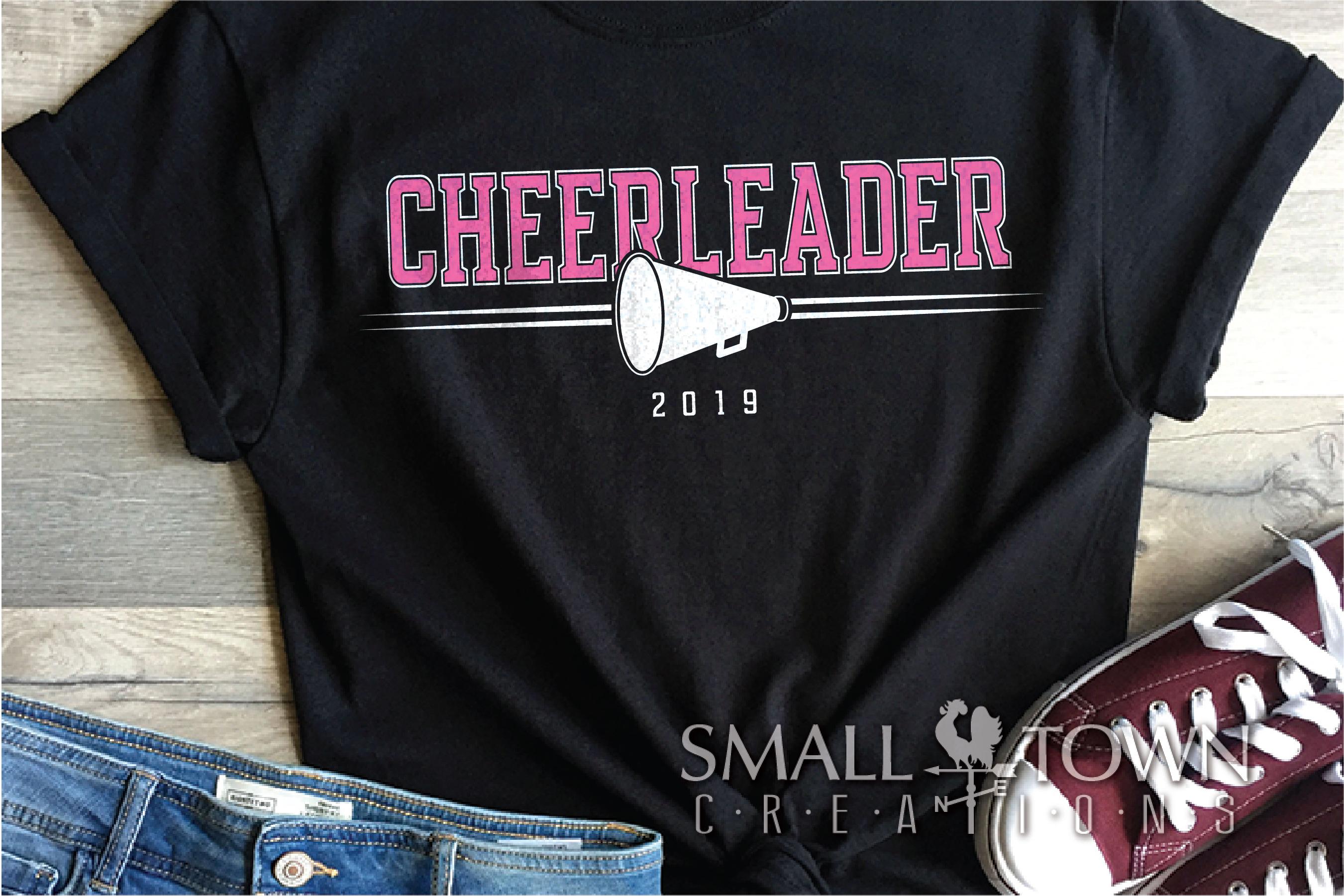 Cheerleading, Cheerleader, Team, Sports, PRINT, CUT & DESIGN example image 1