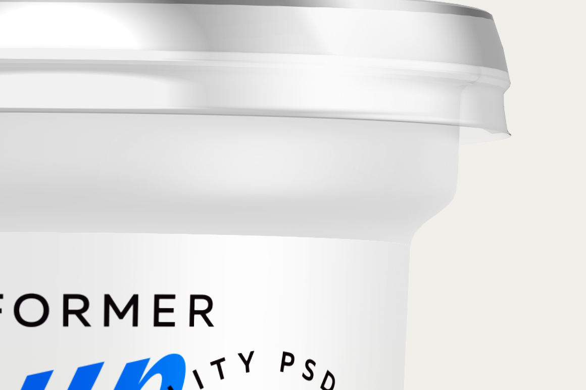 400G YOGURT CUP MOCKUP example image 2