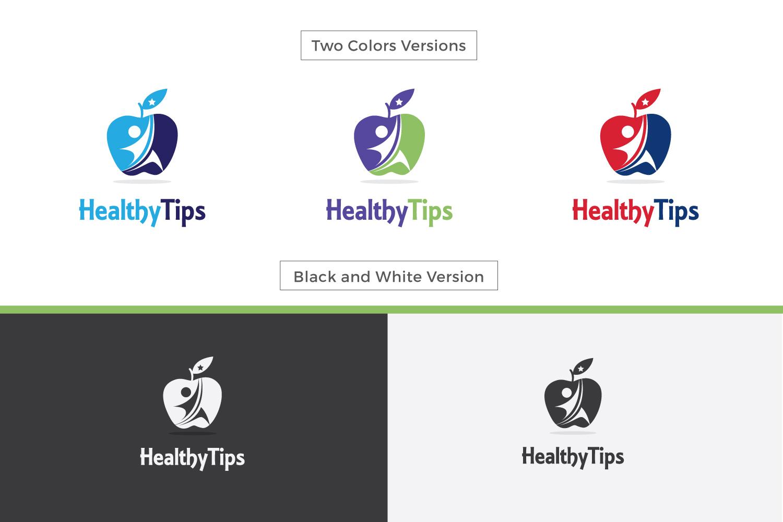 Healthy Life, Fitness Logo example image 3