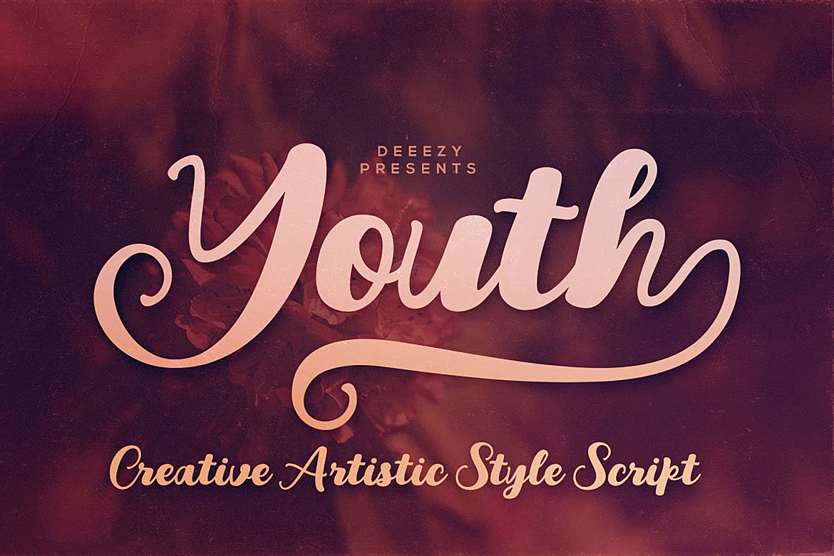 Youth Script Font example image 8
