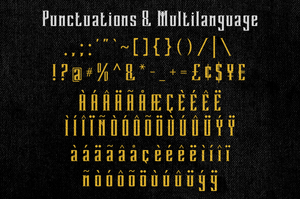 Punctuations & Multilanguage