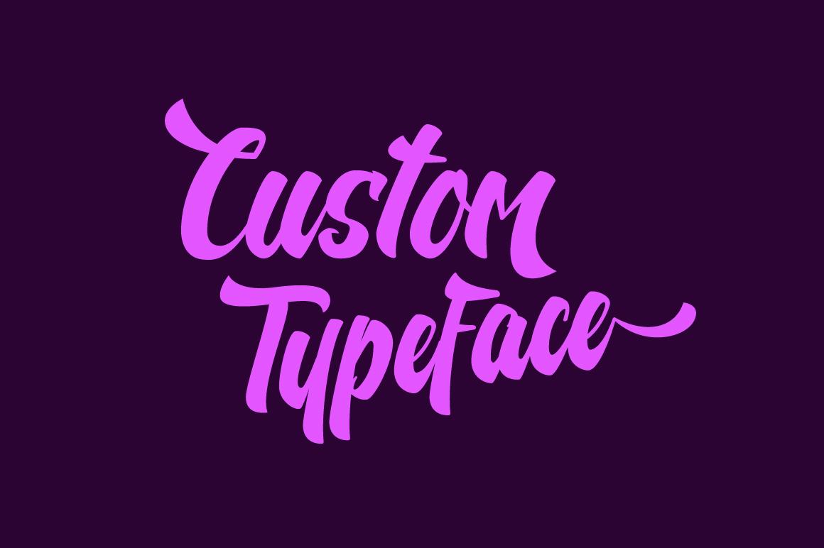 Nelda Typeface example image 3