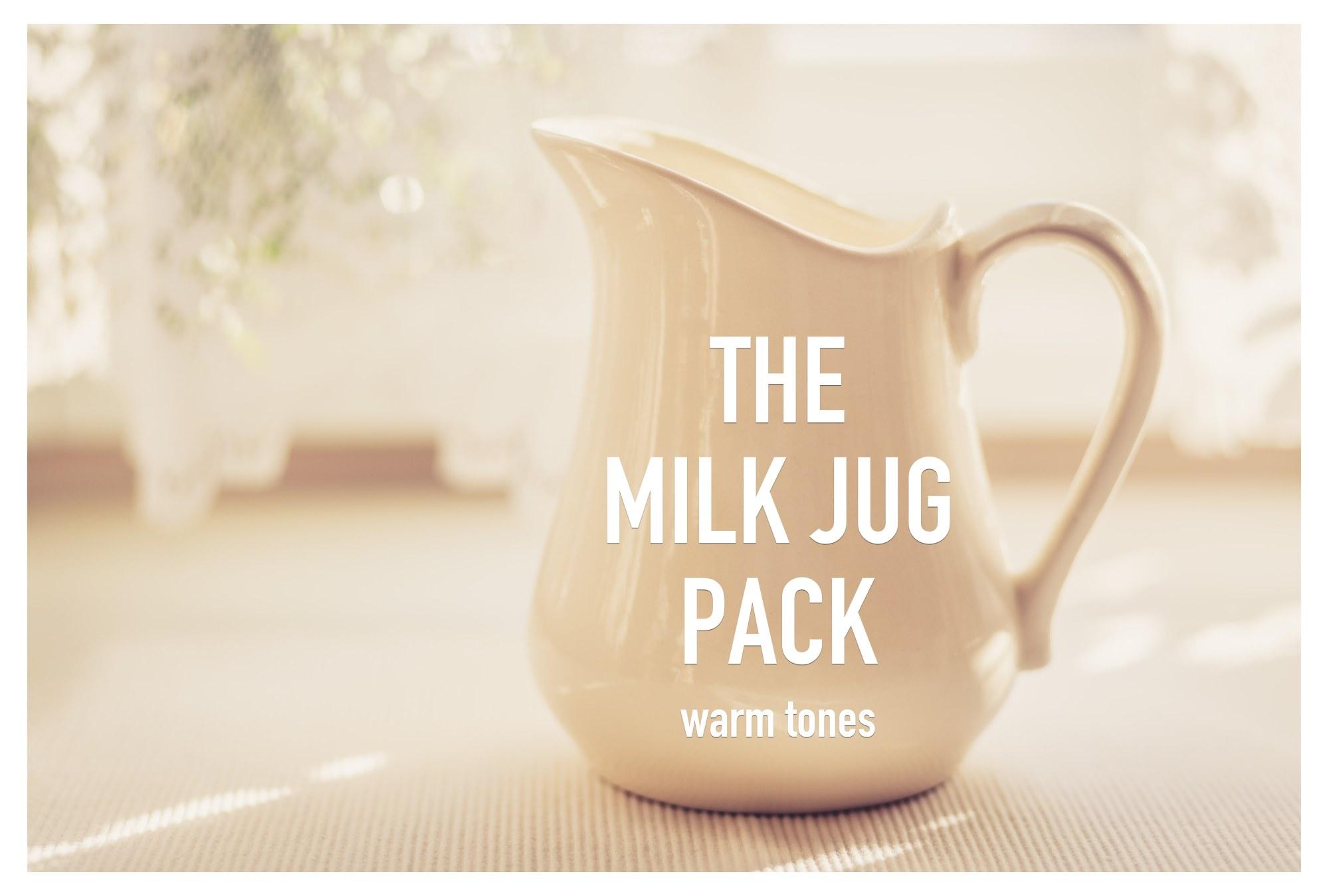 The MILK JUG Pack | warm example image 9