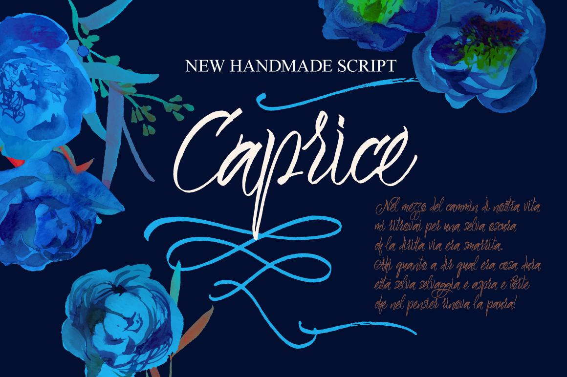 Caprice Script example image 1