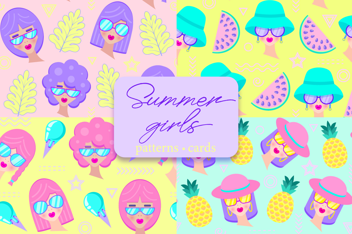 Summer girls example image 1