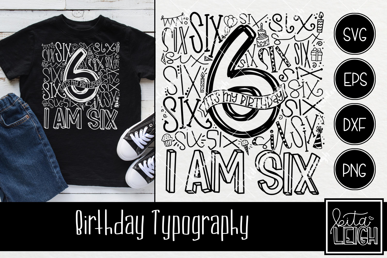 Birthday Typography Bundle example image 7