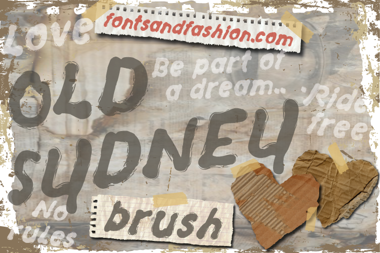 Old Sydney_Brush example image 2