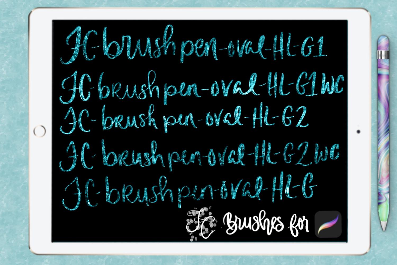 FC-glitter set 1 brushes for PROCREATE example image 6