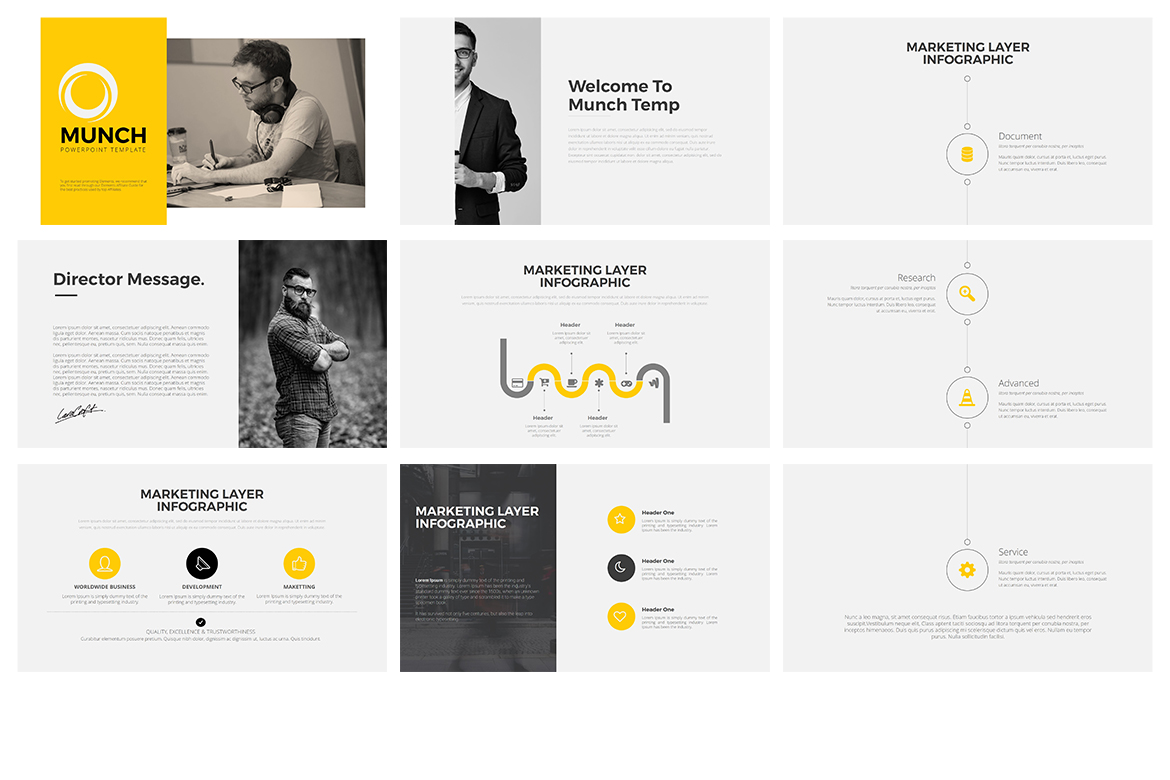 Munch Keynote Template example image 2