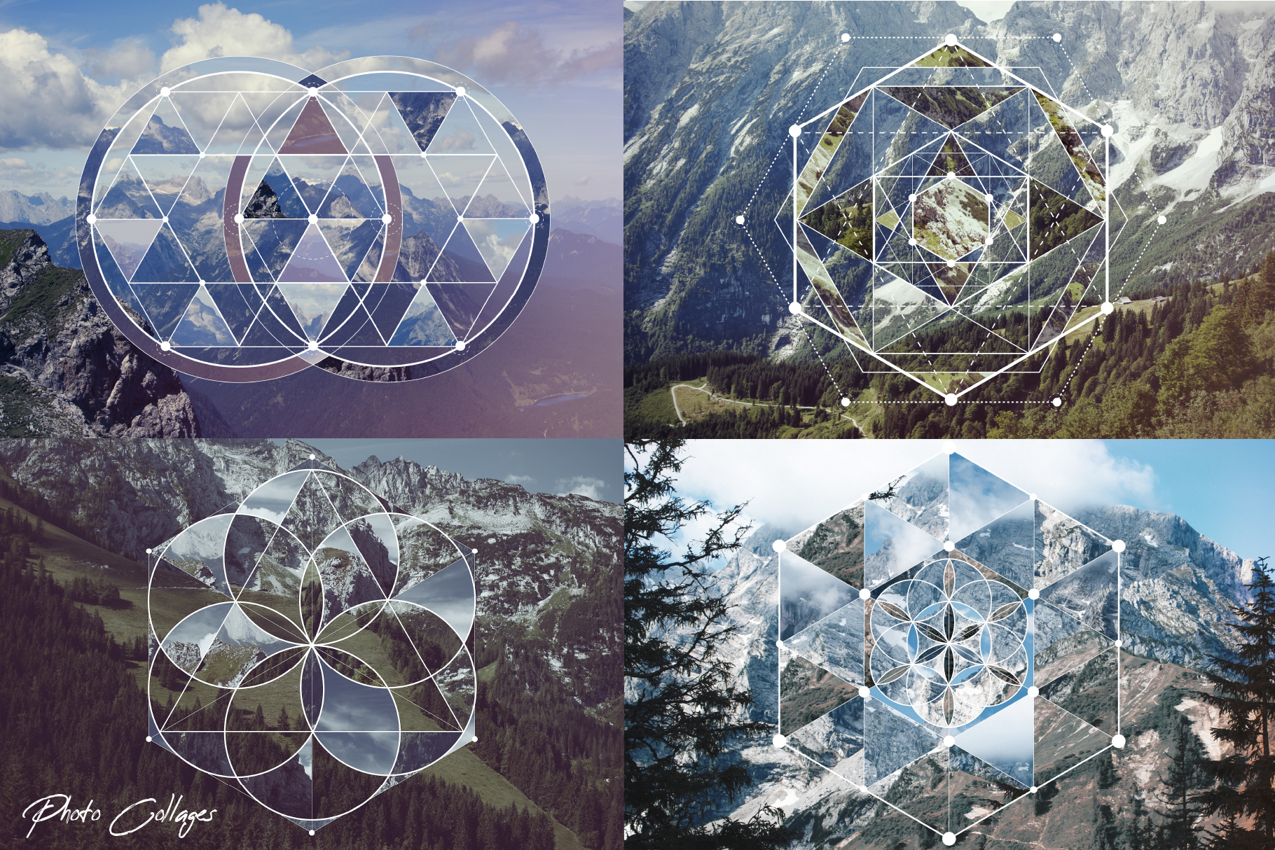 Sacred geometry unity of nature example image 5