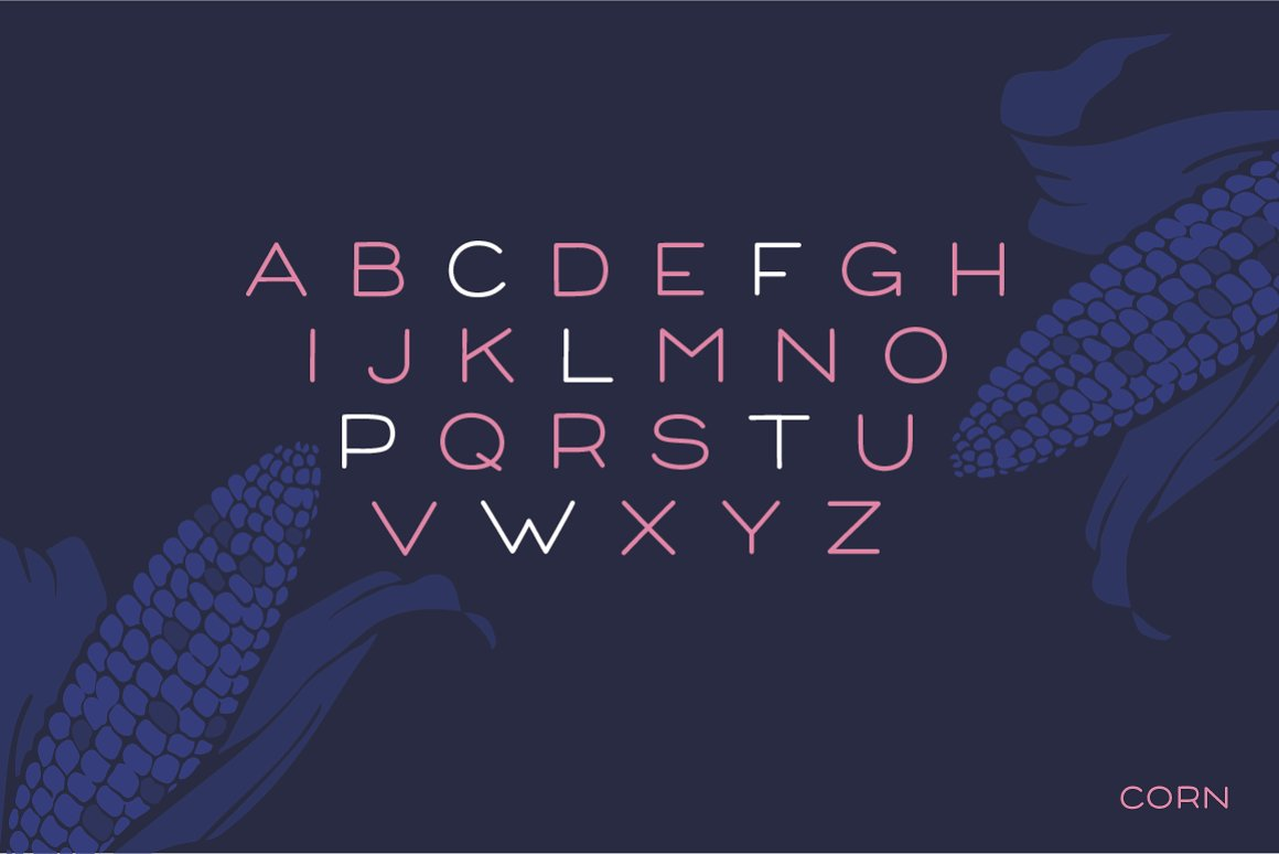 Corn - A clean headline font with Style example image 2