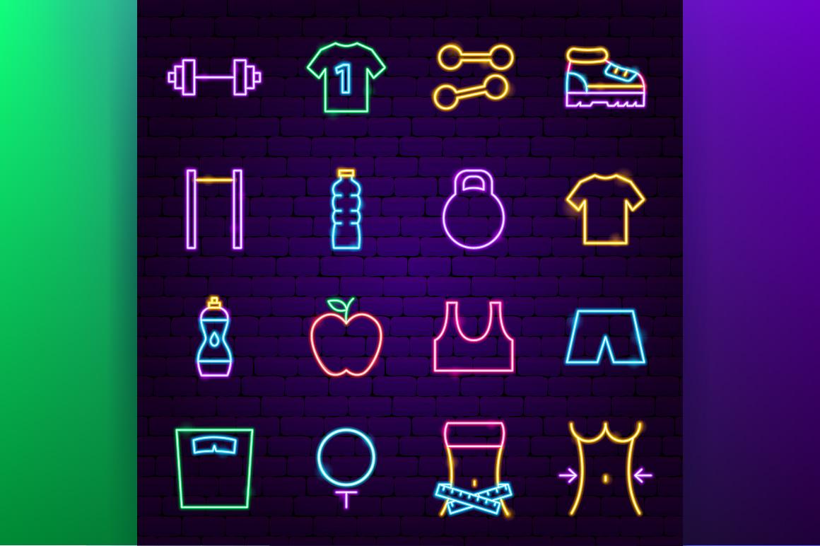 Fitness Neon example image 2