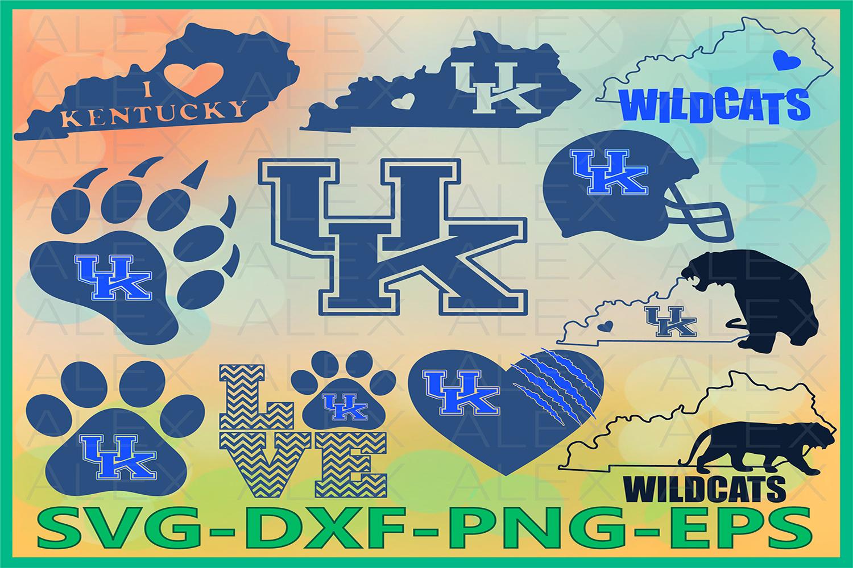 Kentucky svg, Wildcats Svg, Wildcats Love SVG example image 1