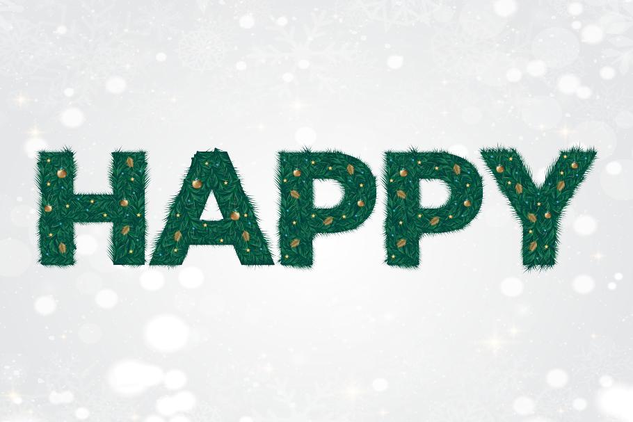 Christmas Font example image 4