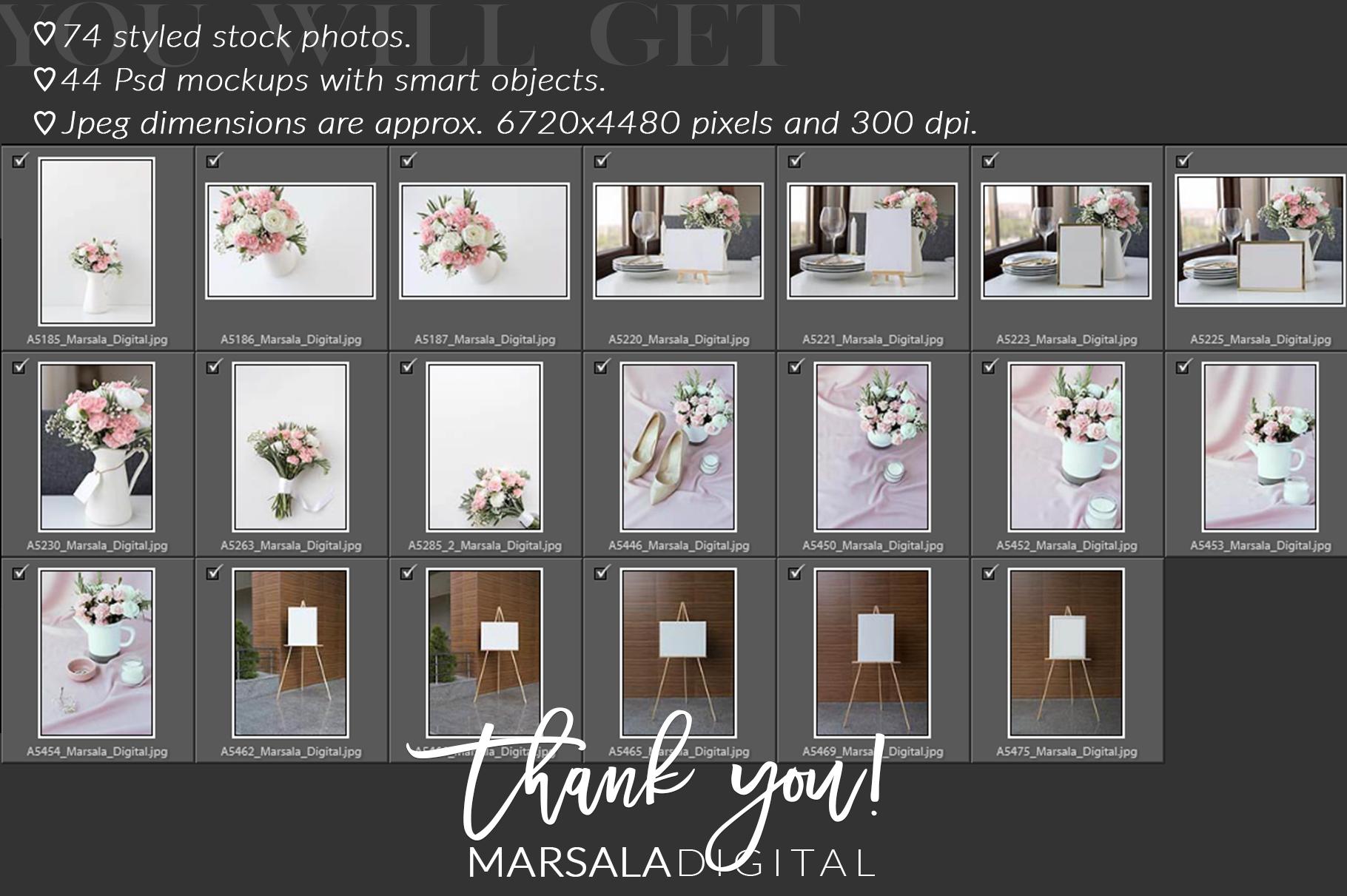Ultimate Wedding Mockup Bundle example image 19