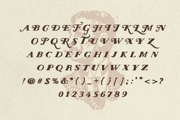 Nations - Hand Drawn Font example image 4