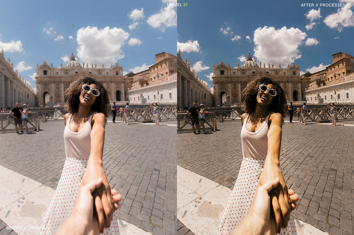 25 Travel Presets for Lightroom example image 23