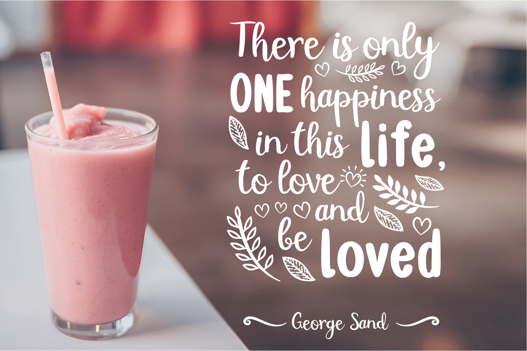 Double Smoothie Font Duo and Family example image 3