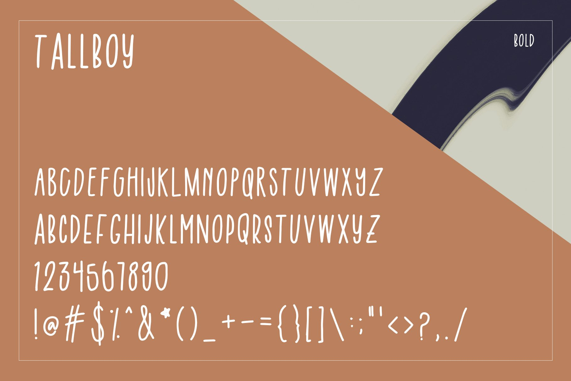 Tall Boy | Handwriting Font example image 5