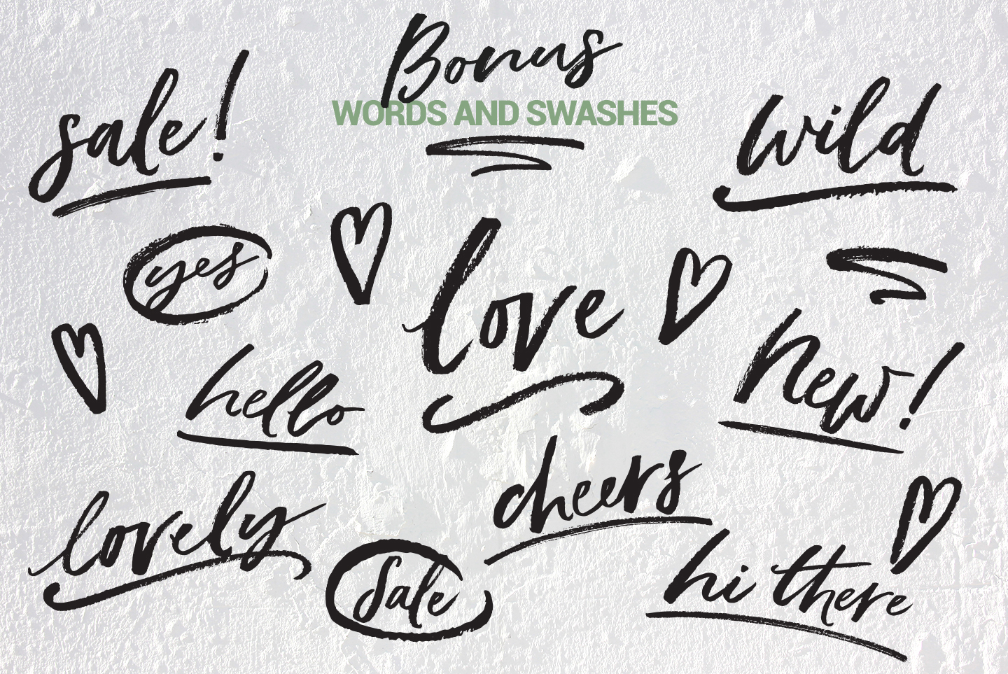 Trendy brush font, May Wilde example image 10