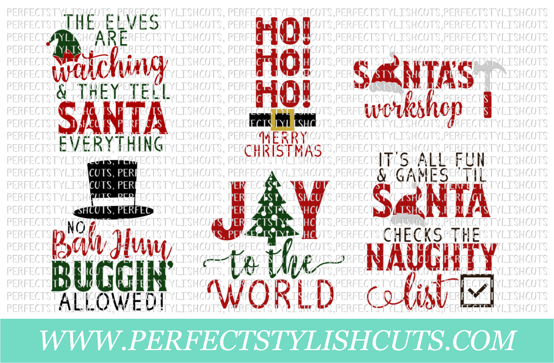 Christmas Wood Sign Designs Collection - Christmas SVG Files example image 3