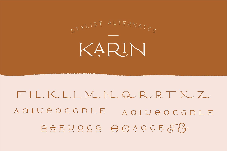 Elegant Karin - Fashion Stylish Typeface example image 25