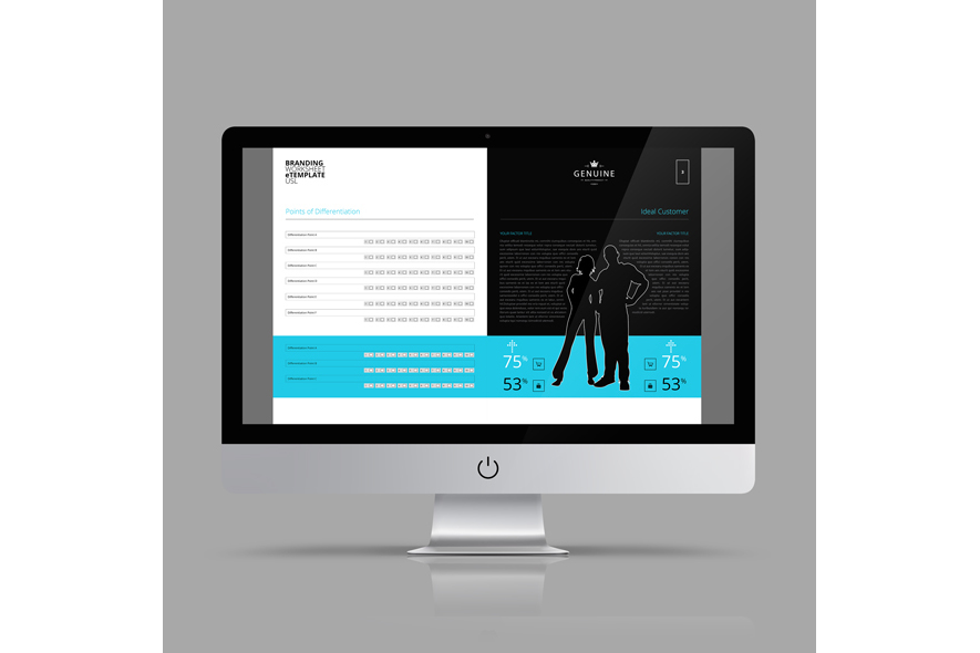 Branding Worksheet eTemplate USL example image 3