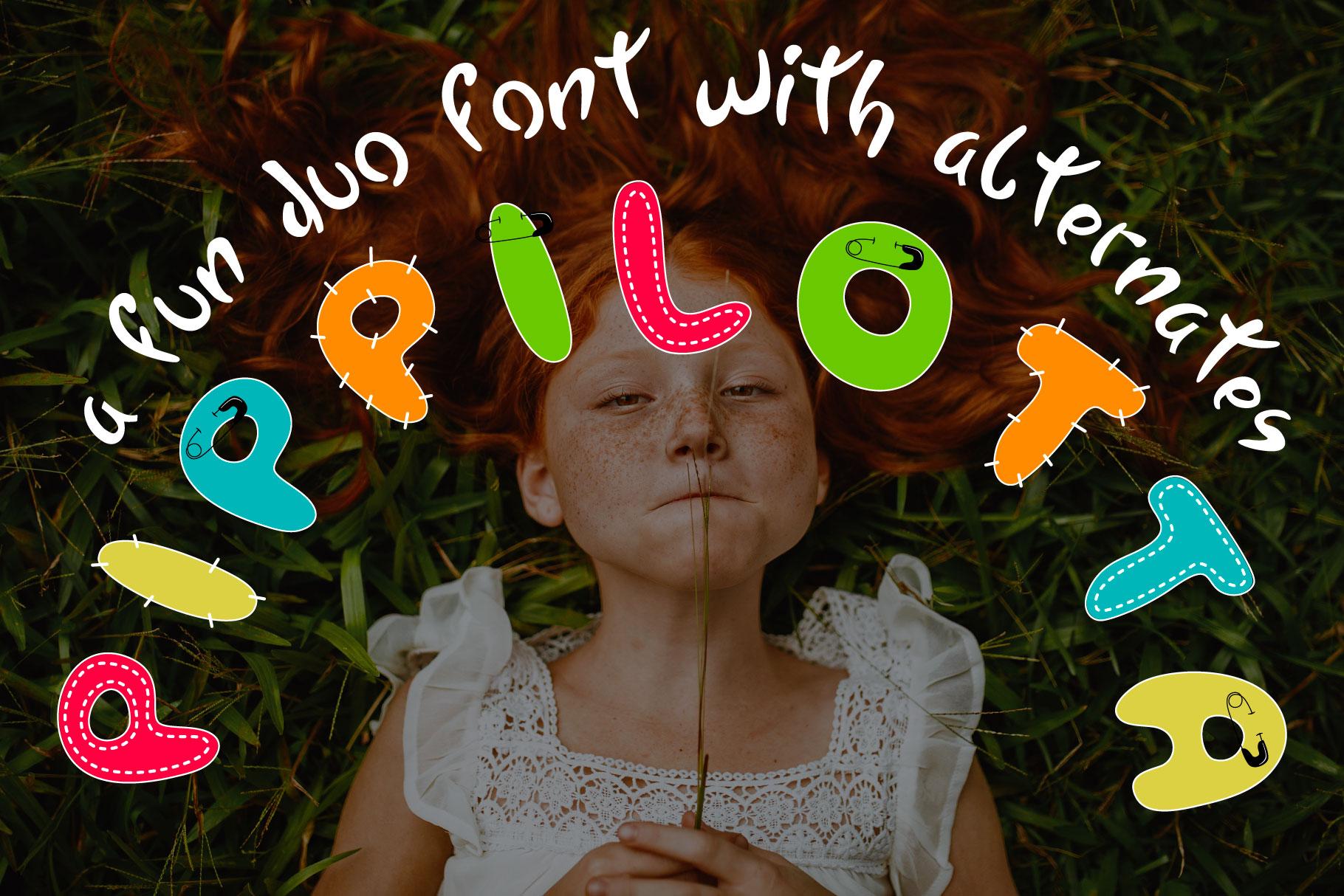 Pippilotta duo font example image 1