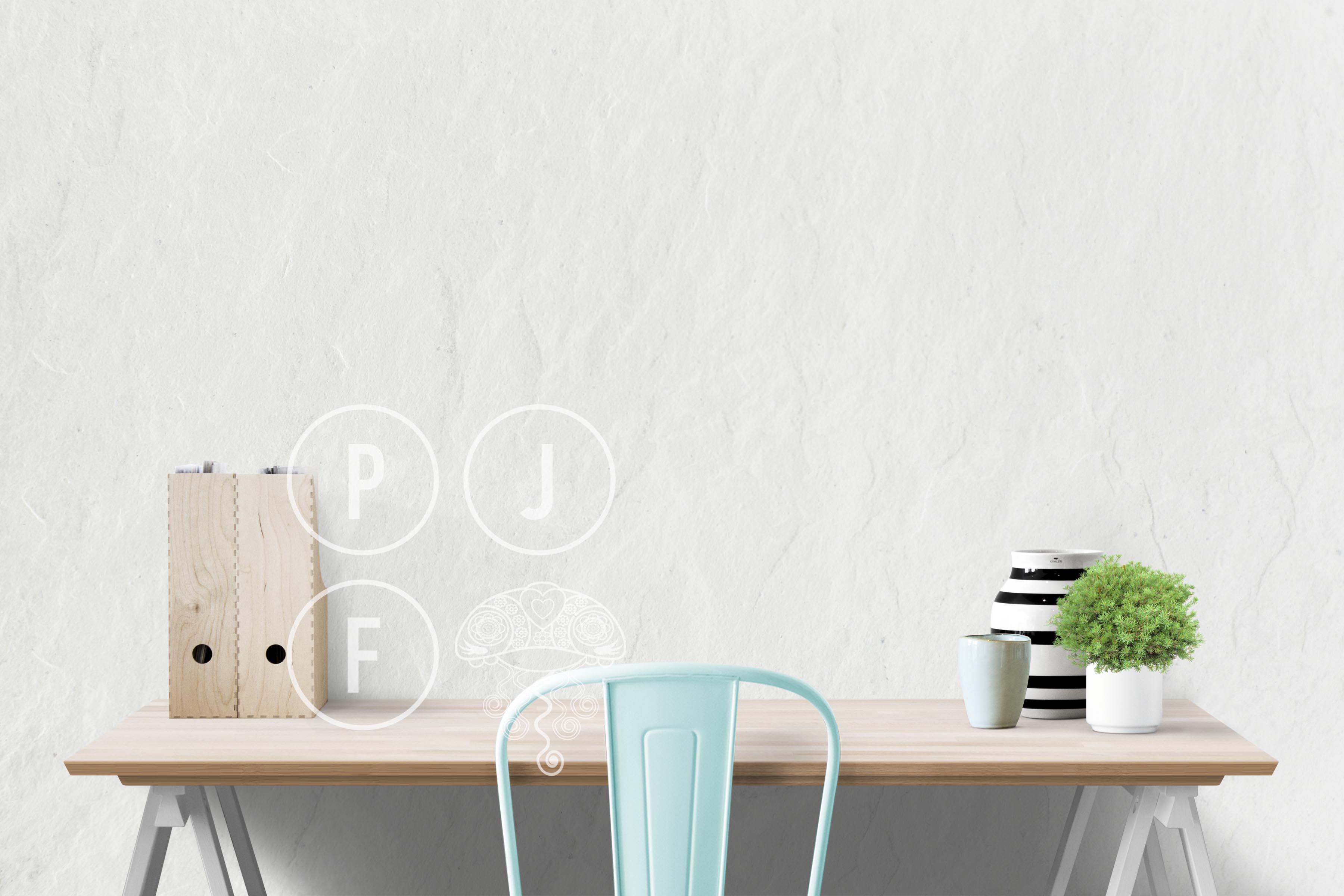 wall mockup, interior wall, desk mockup, blank wall mockup example image 2