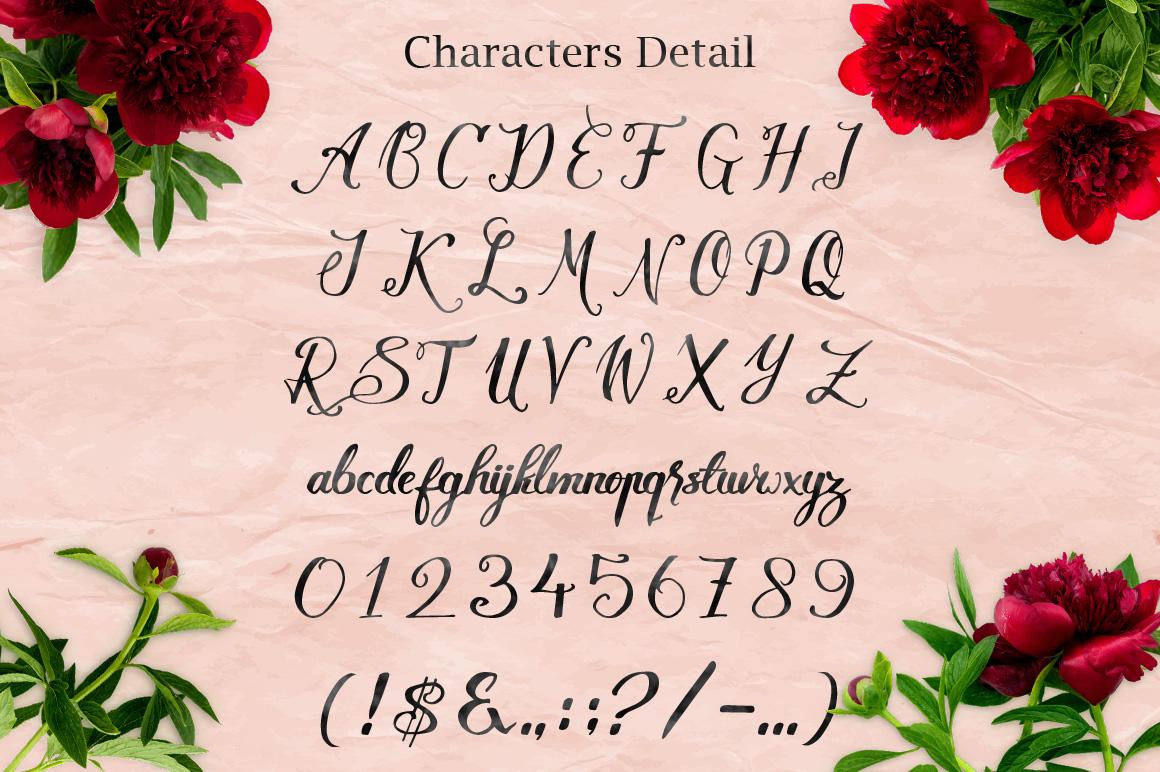 Lovely Kenzie Typeface example image 4
