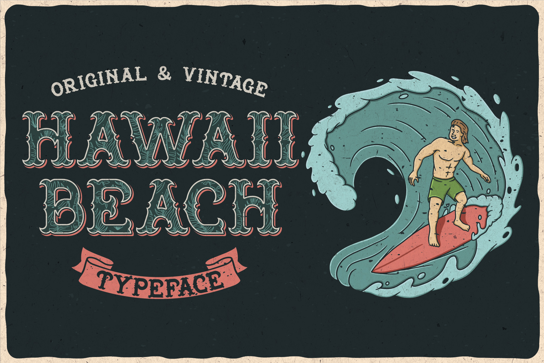 Hawaii Beach Typeface example image 3