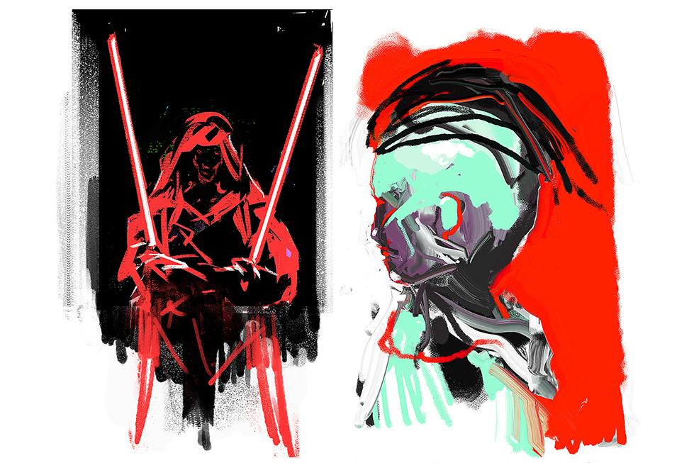 Supreme Acrylic & Gouache Brushes example image 4