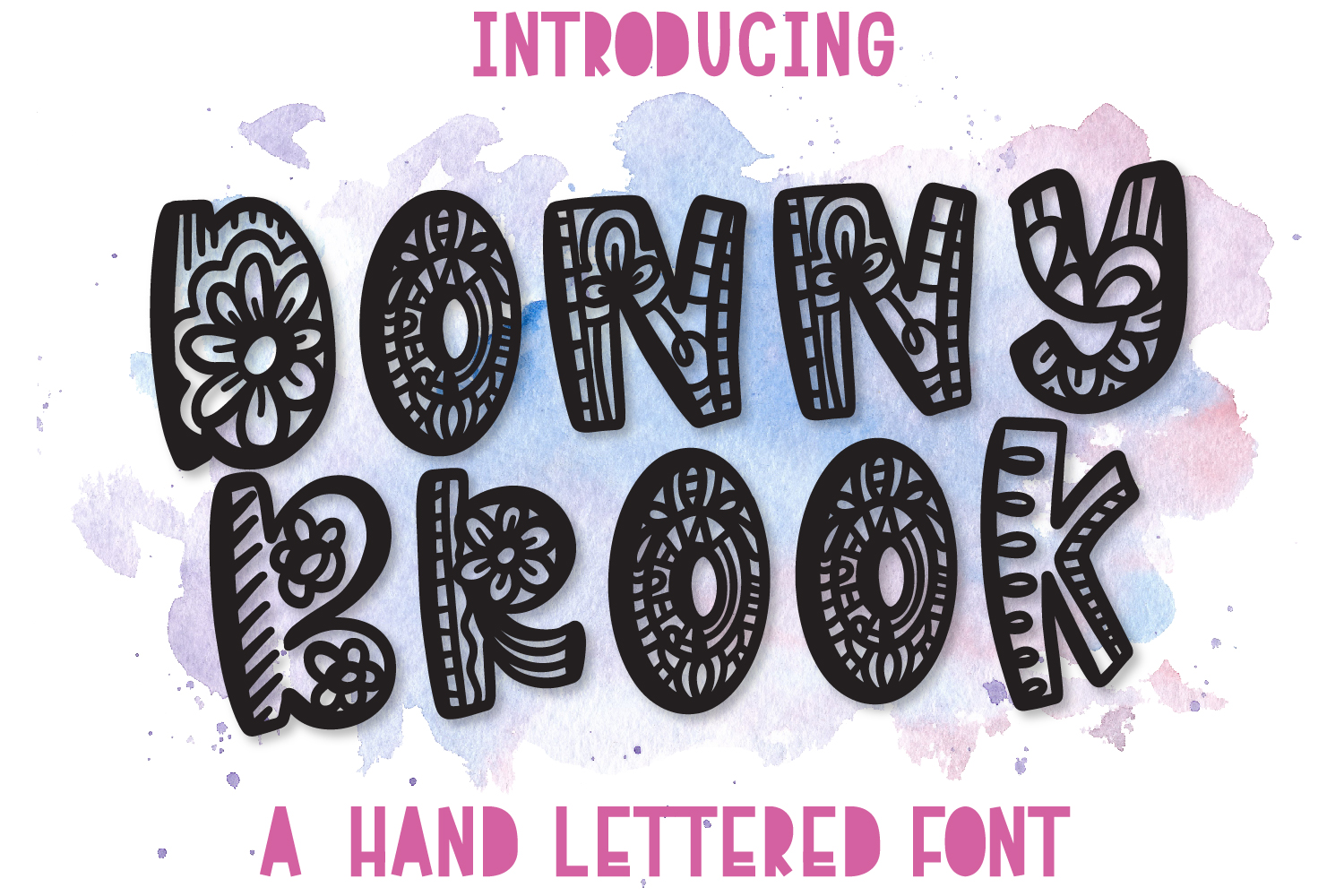George Lincoln- A Silly Doodle Font example image 5